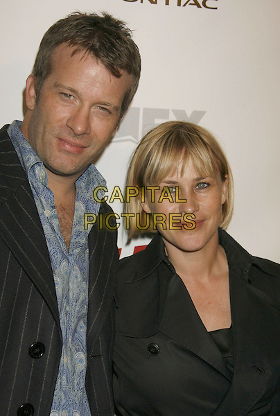 "THOMAS JANE & PATRICIA ARQUETTE.The ""Dirt"" Hollywood premiere, Hollywood, California, USA..December 9th, 2006.headshot portrait .CAP/ADM/RE.©Russ Elliot/AdMedia/Capital Pictures"