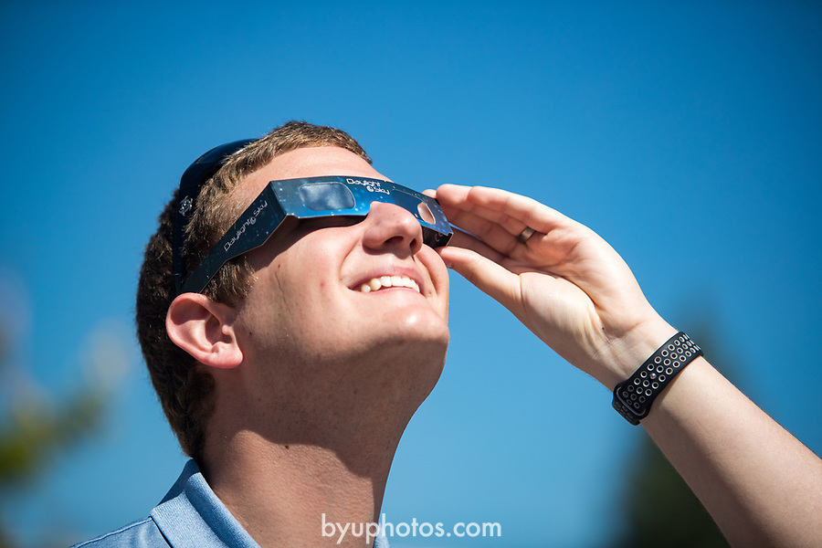 Eclipse_7<br /> <br /> Solar Eclipse on BYU Campus<br /> <br /> August 21, 2017<br /> <br /> Photography by Savanna Richardson/BYU<br /> <br /> &copy; BYU PHOTO 2017<br /> All Rights Reserved<br /> photo@byu.edu  (801)422-7322