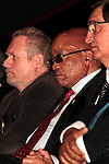 DURBAN - 24 May 2016 - South African president Jacob Zuma (second from left) listens to a presentation during the official launch by Toyota of its new Hilux and Fortuner ranges at its plant in Durban, To the left of Zuma is South Africa's Trade and Industry Minister Rob Davies and to the right of Zuma is Johan van Zyl, chairman of Toyota in South Africa. Picture: Allied Picture Press (APP)