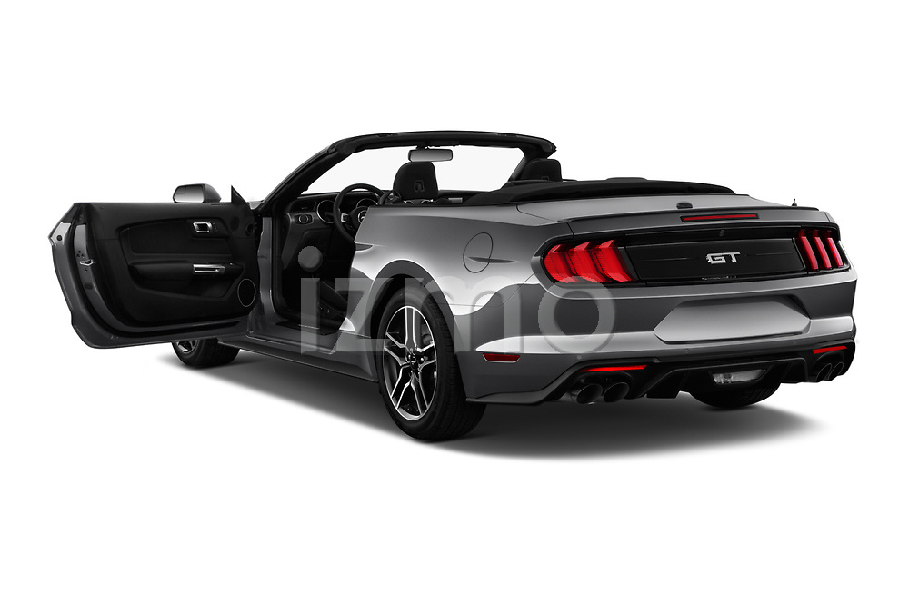 Car images close up view of a 2020 Ford Mustang GT Premium 2 Door Convertible doors