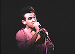 The SMITHS 1985 Morissey..© Chris Walter..Photofeatures International