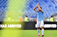 Ciro Immobile of SS Lazio waves the fans  <br /> Roma 29-9-2019 Stadio Olimpico <br /> Football Serie A 2019/2020 <br /> SS Lazio - Genoa CFC <br /> Foto Andrea Staccioli / Insidefoto