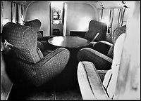 BNPS.co.uk (01202 558833)Pic: QueensFlightArchivesThe comfortable interior of the WW2 DH.95 Flamingo.<br /> <br /> A new book gives an intimate look behind the scenes of the Royal Flight and also the flying Royals.<br /> <br /> Starting in 1917 the book charts in pictures the 100 year evolution of first the King's Flight and then later the Queen's Flight as well as the Royal families passion for aviation.<br /> <br /> Author Keith Wilson has had unprecedented access to the Queen's Flight Archives to provide a fascinating insight into both Royal and aeronautical history.