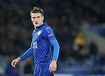 Leicester's Jamie Vardy in action during the Champions League group B match at the King Power Stadium, Leicester. Picture date November 22nd, 2016 Pic David Klein/Sportimage