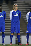 20 November 2016: FGCU's Preston Kilwien. The University of North Carolina Tar Heels hosted the Florida Gulf Coast University Eagles at Fetzer Field in Chapel Hill, North Carolina in a 2016 NCAA Division I Men's Soccer Tournament Second Round match. UNC defeated FGCU 3-2 in two overtimes.
