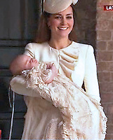 Prince Gerrge Christening - London