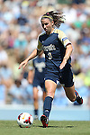 15 September 2013: Notre Dame's Morgan Andrews. The University of North Carolina Tar Heels hosted the University of Notre Dame Fighting Irish at Fetzer Field in Chapel Hill, NC in a 2013 NCAA Division I Women's Soccer match. Notre Dame won the game 1-0.