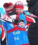 Pyeongchang, Korea, 16/3/2018-Mark Arendez competes in the biathlon and wins gold during the 2018 Paralympic Games in PyeongChang.  Photo Scott Grant/Canadian Paralympic Committee.