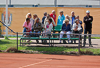 August 24, 2014, Netherlands, Amstelveen, De Kegel, National Veterans Championships, spectators<br /> Photo: Tennisimages/Henk Koster