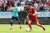 Bradley Goldberg of Welling in action during Welling United vs Charlton Athletic, Friendly Match Football at the Park View Road Ground on 13th July 2019