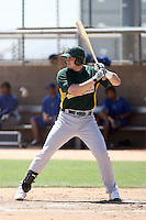 Dallas McPherson, Oakland Athletics 2010 extended spring training..Photo by:  Bill Mitchell/Four Seam Images.