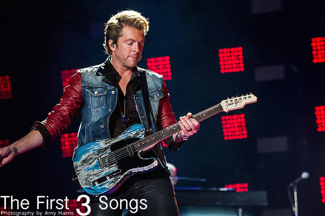 Joe Don Rooney of Rascal Flatts performs at LP Field during Day One of the 2014 CMA Music Festival in Nashville, Tennessee.