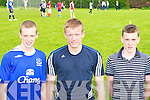 Medal winners at the St Brendan's College Killarney sports day on Friday l-r: Conor Magill, Chris O'Leary and Michael Quirke   Copyright Kerry's Eye 2008