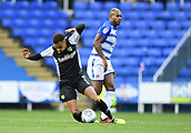 30th September 2017, Madejski Stadium, Reading, England; EFL Championship football, Reading versus Norwich City; Leandro Bacuna of Reading fouls Josh Murphy of Norwich City from behind