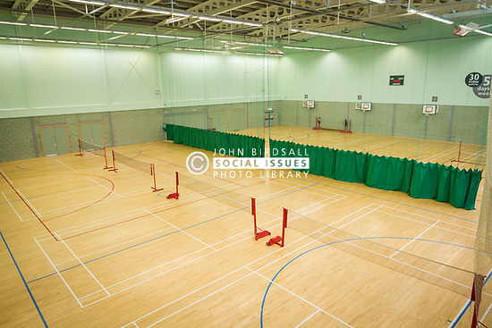 Badminton, Basildon Sporting Village, Essex UK