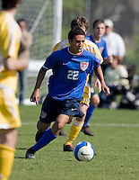 U.S. U17 Men's National Team .Development Academy.vs AFC Lighting.Bradenton, FL.Jan. 27, 2008