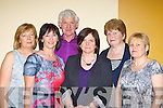 Margaret Scanlon, Mary Cooney, Noel Murphy, Mary Dennehy, Marie O'Sullivan and Marie Duggan Millstreet who were dancing at the Gathering Festival monster Ceili in the INEC on Sunday.