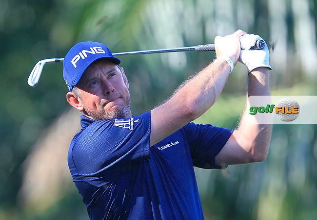 Lee Westwood (ENG) on the 5th tee during Round 4 of the Maybank Championship on Sunday 12th February 2017.<br /> Picture:  Thos Caffrey / Golffile<br /> <br /> All photo usage must carry mandatory copyright credit     (&copy; Golffile   Thos Caffrey)
