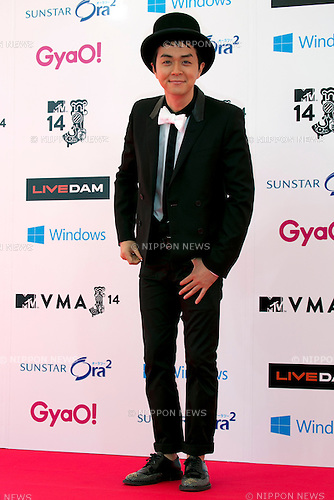 Hyadain, June 14, 2014 : MTV VMAJ (Video Music Awards Japan 2014 at Maihama Amphitheater in Chiba, Japan. (Photo by Rodrigo Reyes Marin/AFLO)