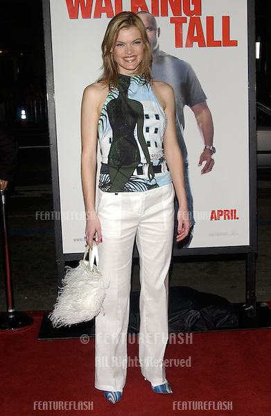 Actress MISSI PYLE at the world premiere, in Hollywood, of Walking Tall..March 29, 2004