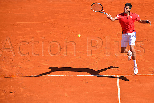 13.04.2016. Monte Carlo, Monaco. Monte Carlo ATP Tennis championships.  Novak Djokovic (Ser) defeated by  Jiri Vesely (Cze) in 3 sets for the shock of the round
