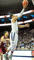 Villanova's Josh Hart (3) picks up a loose ball and makes a layup against IUP in the first half Saturday, November 5, 2016 at the Wells Fargo Center in Philadelphia, Pennsylvania. (WILLIAM THOMAS CAIN / For The Philadelphia Inquirer)