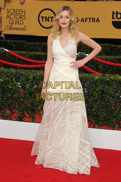 25 January 2015 - Los Angeles, California - Laura Carmichael. 21st Annual Screen Actors Guild Awards - Arrivals held at The Shrine Auditorium. <br /> CAP/ADM/BP<br /> &copy;BP/ADM/Capital Pictures