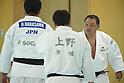 (L-R) Hisayoshi Harasawa, Yasuhiro Yamashita (JPN), <br /> JULY 27, 2016 - Judo : <br /> Men's Japan national team training session <br /> for Rio Olympic Games 2016 <br /> at Ajinomoto National Training Center, Tokyo, Japan. <br /> (Photo by AFLO SPORT)