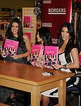 "LOS ANGELES, CA. - December 02: Khloe Kardashian, Kourtney Kardashian and Kim Kardashian attend the ""Kardashian Konfidential"" Book Signing at Borders Book store on December 2, 2010 in  Century City, California."