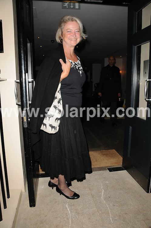 **ALL ROUND PICTURES FROM SOLARPIX.COM**.**WORLDWIDE SYNDICATION RIGHTS**.Guests attend the book launch party for Kathy Lette's new book 'To Love, Honour and Betray' at the Haymarket Hotel, London, UK. 24th September 2008..This pic: Kate Adie..JOB REF: 7450 MSR    DATE: 24_09_2008.**MUST CREDIT SOLARPIX.COM OR DOUBLE FEE WILL BE CHARGED* *UNDER NO CIRCUMSTANCES IS THIS IMAGE TO BE REPRODUCED FOR ANY ONLINE EDITION WITHOUT PRIOR PERMISSION*