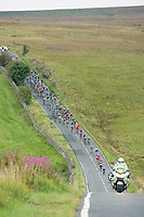 Picture by Allan McKenzie/SWpix.com - 04/09/2017 - Cycling - OVO Energy Tour of Britain - Stage 2 Kielder Water to Blyth - The peloton.