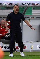 04.07.2020, Fussball DFB Pokal Finale, Bayer 04 Leverkusen - FC Bayern Muenchen emspor, v.l. Trainer Hansi Flick (FC Bayern Muenchen)<br /> <br /> <br /> Foto: Kevin Voigt/Jan Huebner/Pool/Marc Schueler/Sportpics.de<br /> <br /> (DFL/DFB REGULATIONS PROHIBIT ANY USE OF PHOTOGRAPHS as IMAGE SEQUENCES and/or QUASI-VIDEO - Editorial Use ONLY, National and International News Agencies OUT)