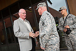 U.S. Army Reserve Brigadier General Mitchell R. Chitwood tours Foothill College
