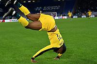 Olivier Ntcham of Celtic celebrates after scoring the winning goal of 1-2 <br /> Roma 7-11-2019 Stadio Olimpico <br /> Football Europa League 2019/2020 <br /> SS Lazio - Celtic <br /> Photo Andrea Staccioli / Insidefoto