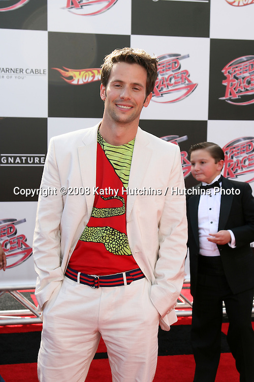 """Christian Oliver.""""Speed Racer"""" Premiere.Nokia Theater.Los Angeles, CA.April 26, 2008.©2008 Kathy Hutchins / Hutchins Photo"""