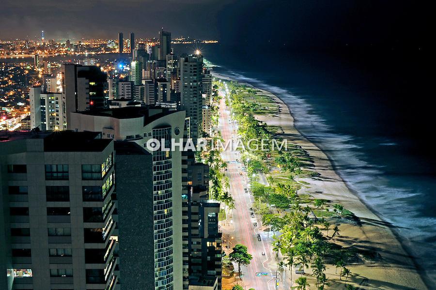 Praia de Boa Viagem em Recife. Pernambuco. 2009. Foto de Ricardo Azoury.