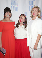 "LOS ANGELES, CA - JUNE 21: Casey Wilson, Miraya Berke, June Diane Raphael, at 2019 Rom Com Fest Los Angeles - ""Bride Wars"" at Downtown Independent in Los Angeles, California on June 21, 2019. Credit: Faye Sadou/MediaPunch"