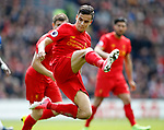 Philippe Coutinho of Liverpool in action during the English Premier League match at Anfield Stadium, Liverpool. Picture date: April 1st 2017. Pic credit should read: Simon Bellis/Sportimage