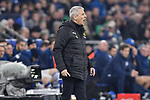 08.12.2018, Veltins-Arena, Gelsenkirchen, GER, 1. FBL, FC Schalke 04 vs. Borussia Dortmund, DFL regulations prohibit any use of photographs as image sequences and/or quasi-video<br /> <br /> im Bild Lucien Favre (Borussia Dortmund) unzufrieden / enttaeuscht / niedergeschlagen / frustriert, <br /> <br /> Foto © nordphoto/Mauelshagen