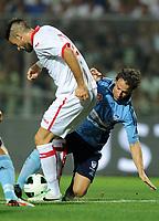 Elia Legati-Alessandro Del Piero<br /> Padova 07-08-2013 Amichevole Padova - Sidney FC <br /> Foto Nicolo Zangirolami / Image / Insidefoto