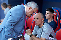 Luis Sabalza (President; CA Osasuna) during the Spanish <br /> la League soccer match between CA Osasuna and Elche CF at Sadar stadium, in Pamplona, Spain, on Saturday, <br /> agost 26, 2018.