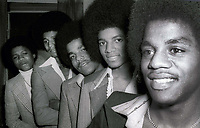 Jackson 5 at Studio 54 1981<br /> Photo By Adam Scull/PHOTOlink.net