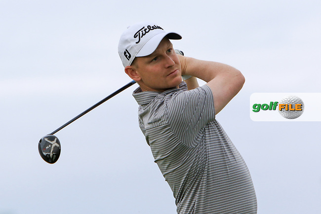 Geoff Lenehan (Portmarnock) on the 17th tee during Round 2 of the North of Ireland Amateur Open Championship 2019 at Portstewart Golf Club, Portstewart, Co. Antrim on Tuesday 9th July 2019.<br /> Picture:  Thos Caffrey / Golffile<br /> <br /> All photos usage must carry mandatory copyright credit (© Golffile   Thos Caffrey)