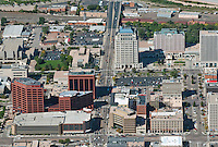 Aerial of Colorado Springs