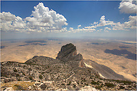 Guadalupe Peak rises 8,749 feet above sea level and offers a great view of El Capitan and the surrounding Chihuahuan Desert. On a clear afternoon you can see for miles and miles. This is the tallest point in Texas, and the walk up is well worth the effort.