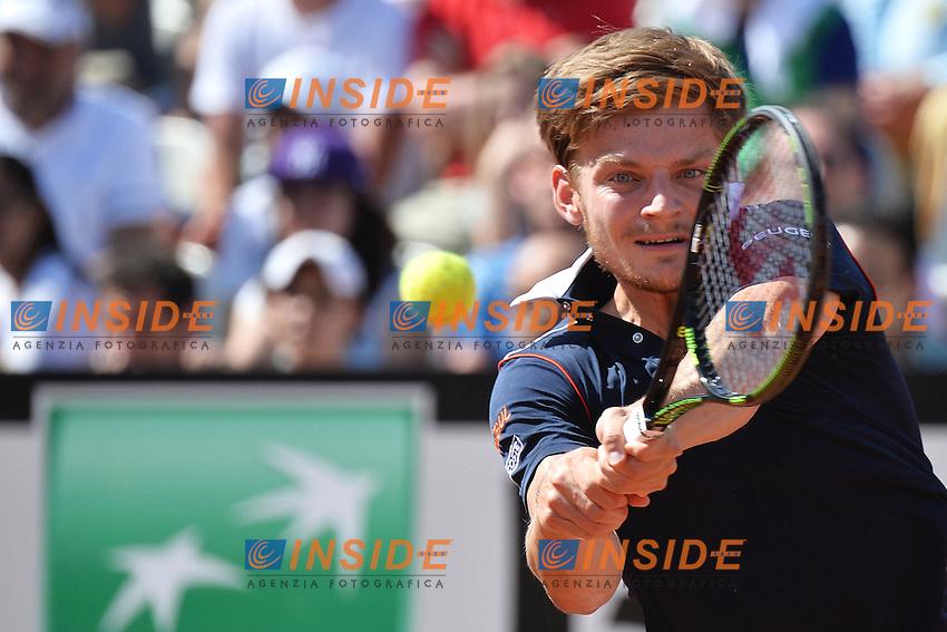 David Goffin BEL<br /> Roma 12-05-2015 Foro Italico, Tennis Internazionali di Tennis d'Italia Foto Andrea Staccioli / Insidefoto