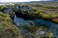Silfra, Thingvellir lake, Thingvellir National Park, Iceland