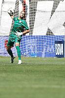 02.09.2012 SPAIN -  La Liga 12/13 Matchday 3rd  match played between Rayo Valelcano vs Sevilla Futbol Club (0-0) at Campo de Vallecas stadium. The picture show Ruben Ivan Martinez Andrade (Spanish player of Rayo Vallecano)