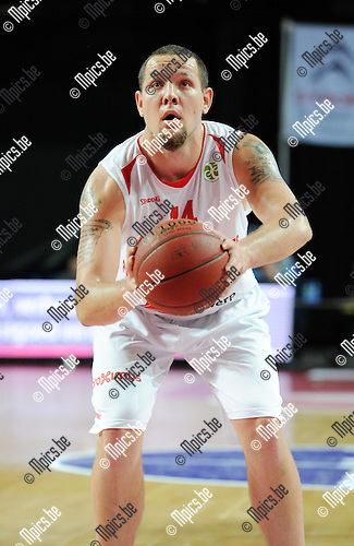 2014-12-02 / Basketbal / seizoen 2014-2015 / Antwerp Giants - Le Mans / Kirk Archibeque<br />