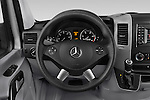 Car pictures of steering wheel view of a 2016 Mercedes Benz Sprinter-Crew-Van 2500-170-WB-High-Roof 4 Door Combi Steering Wheel